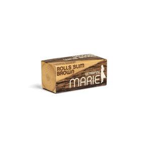 Marie Rolls Slim Brown